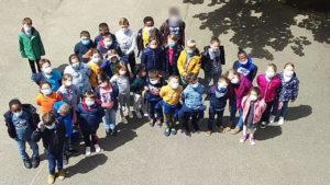classe de CP CE (002) la loupe